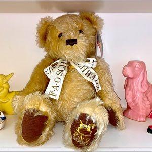 🐻 FAO Schwarz ❤️Millennium Teddy Bear❤️